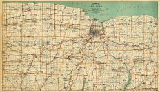 Rochester District, New York State 1890 to 1908 Walker Maps
