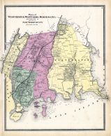 New York And Its Vicinity 1867 New York Historical Atlas