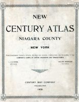 Title Page, Niagara County 1908