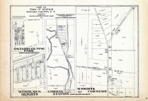 Newfane - Town - Part, Ontario Outing Park, Woodlawn Heights, Corwin Station, Wrights Corners, Niagara County 1938