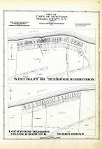 Newfane - Town - Part, West Bluff or Tenbrook Subdiv., Lockwood Heights Crane and Babcock Subdivisions, Niagara County 1938