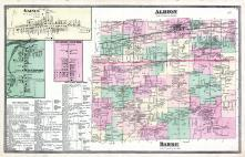 Albian Township, Barre Township, Gaines, Waterport, Niagara and Orleans County 1875