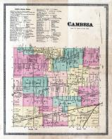 Cambria Township, Cambria Center, North Ridge P.O., Pekin P.O., Niagara and Orleans County 1875