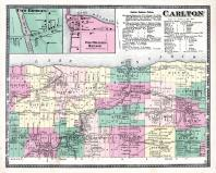 Carlton Township, Two Bridges, Oak Orchard Harbor, Kenyonville, Waterport, Kuckville, Niagara and Orleans County 1875