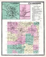 Clarendon Township, Kenyonville, Niagara and Orleans County 1875