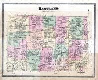 Hartland Township, Johnsons Creek, Middleport P.O., Niagara and Orleans County 1875
