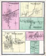 Knowlesville, Oak Orchard, Ridgeway, Shelby Center, Jeddo, East Shelby, Niagara and Orleans County 1875