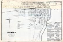 Medina - South, Niagara and Orleans County 1875