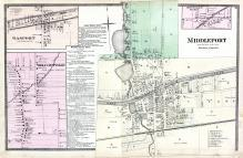 Middleport, Gasport, Wolcottville, Niagara and Orleans County 1875