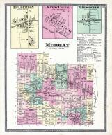 Murray Township, Hulberton, Sandy Creek, Hindsburgh, Holley P.O., Niagara and Orleans County 1875