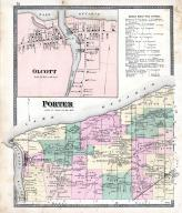 Porter Township, Olcott, Youngstown P.O., Tyronville, Ransomville, Fort Niagara, Niagara and Orleans County 1875