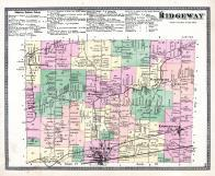Ridgeway Township, Medina P.O., Knowlesville, Oak Orchard, Jeddo, Niagara and Orleans County 1875