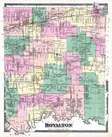 Royalton Township, Wocottville P.O., Orangeport, Reynales Basin, Middleport, McNall's Corners, Niagara and Orleans County 1875