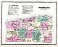 Somerset Township, Lake Road P.O., County Line, Lake Ontario, Niagara and Orleans County 1875