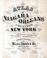 Title Page, Niagara and Orleans County 1875