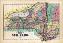 New York State - Plan Map, Oneida County 1874