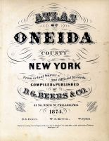 Title Page, Oneida County 1874