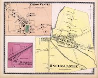 Vernon Center, Dunbarton Glass Works, Oneida Castle, Oneida County 1874