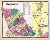 Whitestown, New York Mills, Oneida County 1874