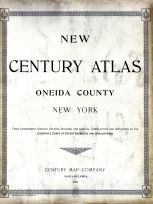 Title Page, Oneida County 1907