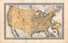 United States Map, Orange County 1875