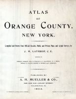 Title Page, Orange County 1903