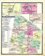 Burlington, Burlington Flats, Burlington Green, West Burlington, Otsego County 1868