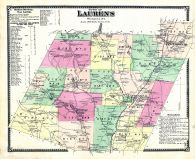 Laurens - Town, Otsego County 1868