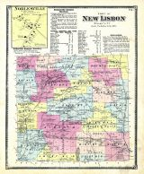 New Lisbon - Town, Noblesville, Otsego County 1868