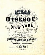 Title Page, Otsego County 1868
