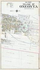 Oneonta Village - North East, Otsego County 1903