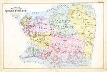 Plate 001, Queens County 1891 Long Island