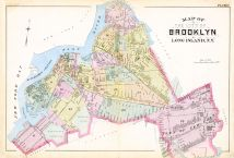 Plate 002, Queens County 1891 Long Island