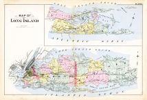 Plate 003, Queens County 1891 Long Island