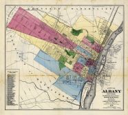 Albany - City, Rensselaer County 1876