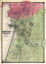 Beekmantown, Tarrytown and Irving - Plan, Rensselaer County 1876