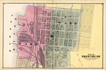 Greenbush - Part of 001, Rensselaer County 1876