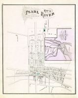 Pearl River Map, Rockland County 1876