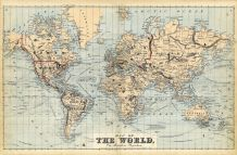 The World Map, Sullivan County 1875
