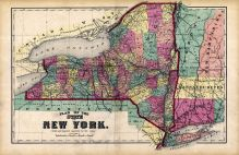 New York - Plan Map, Tioga County 1869