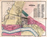 Owego - Plan, Tioga County 1869