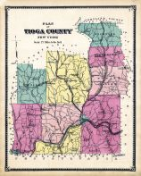 Tioga County - Plan Map, Tioga County 1869