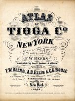 Title Page, Tioga County 1869