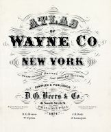 Title Page, Wayne County 1874