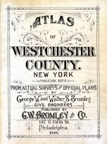 Title Page, Westchester County 1910-1911 Vol 1