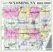 Wyoming County New York Historical Atlas - Wyoming county maps