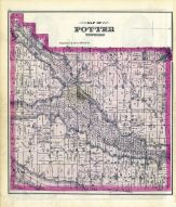 Potter Township, Yates County 1876