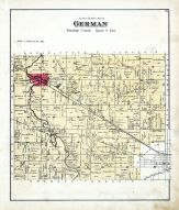 German, Allen County 1880