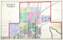 Lima - North, Allen County 1880