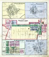 West Minster, West Newton, West Cairo, Lafayette, Rockport, Allen County 1880